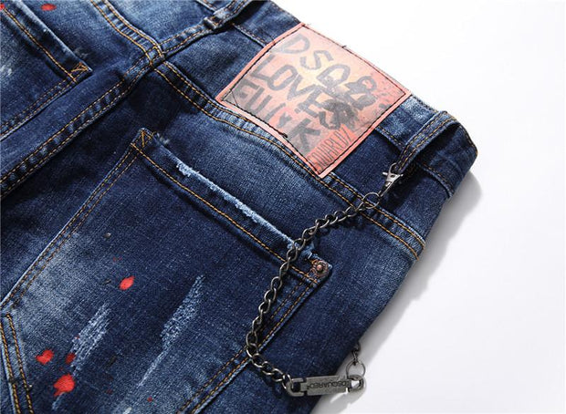HhhknSlim-fit stretch long jeans