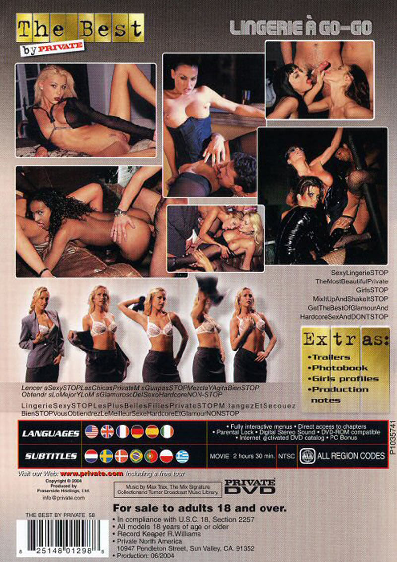 BEST BY PRIVATE58LINGERIE A GO-GO**DISC*