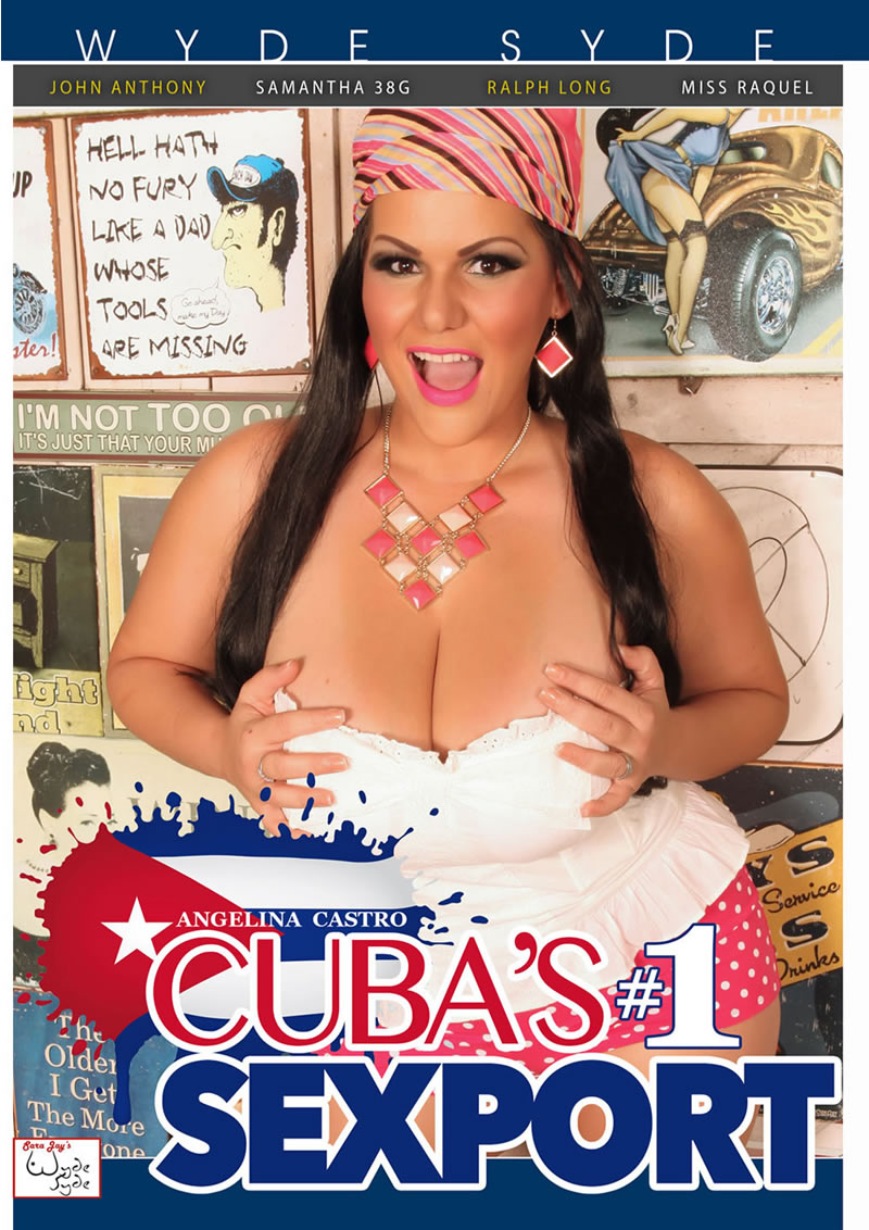 ANGELINA CASTRO CUBAS NUMBER ONE SEXPORT