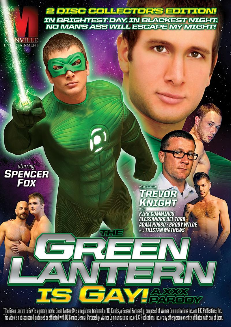 GREEN LANTERN IS GAY XXX PARODY