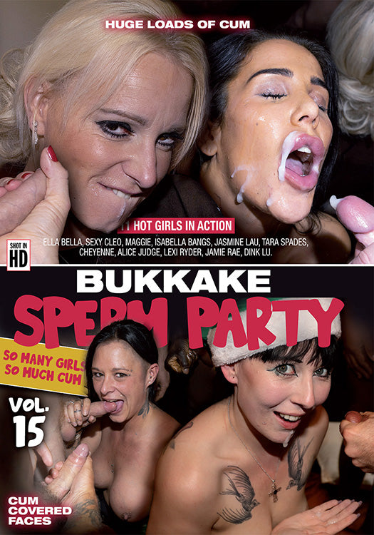 BUKKAKE SPERM PARTY 15 (03-02-21)