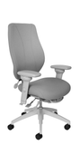 tCentric Hybrid with Upholstered Backrest and Seat, Multi Tilt Mechanism, Light Grey Frame, Open House Asteroid Upholstery