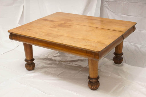 ShopLendy - Antique Farmhouse Wooden Coffee Table (1904) - Shop Lendy