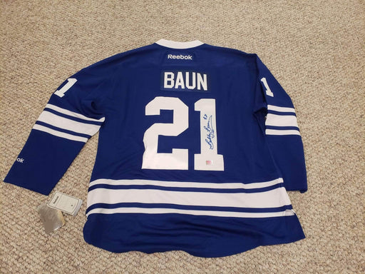 Shop Lendy - Authentic Signed Baun #21 Jersey - Maple Leafs - Shop Lendy
