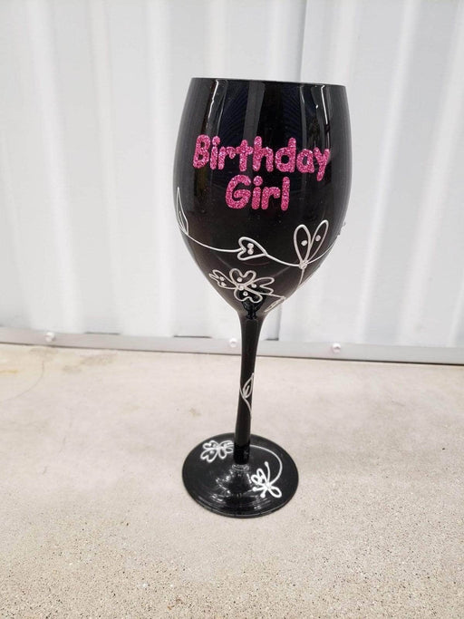Shop Lendy - Birthday Girl Wine Glass - Shop Lendy