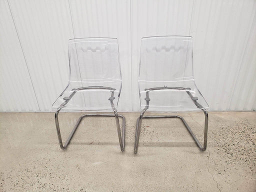 IKEA - Clear Tobias Chairs - Shop Lendy