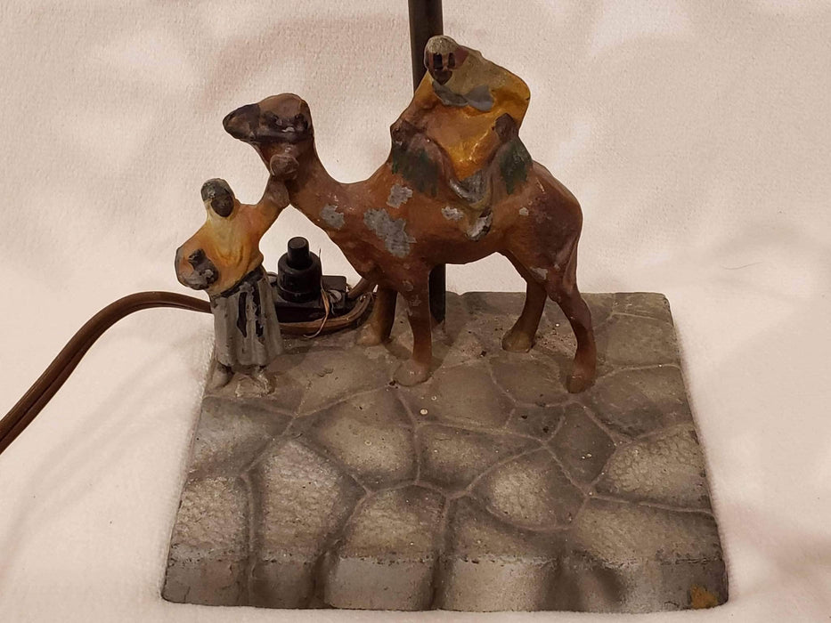 Shop Lendy - Franz Bergman style Palm Tree and Camel Decorative Lamp - Shop Lendy