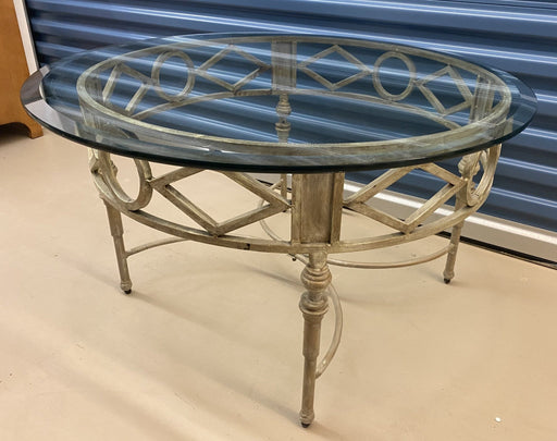 Shop Lendy - Glass Top Round Coffee Table - Shop Lendy