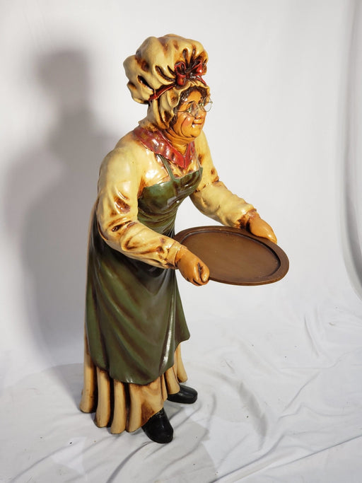 Shop Lendy - Grandma Baker - Butler Statue with tray - Shop Lendy