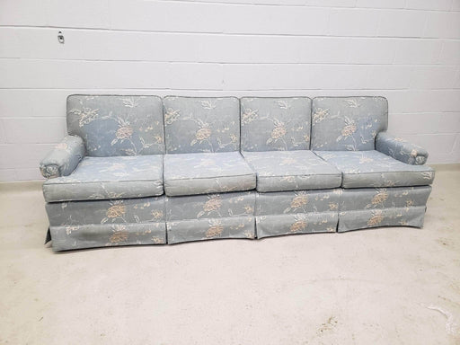 Shop Lendy - Long Blue Floral Couch - Shop Lendy