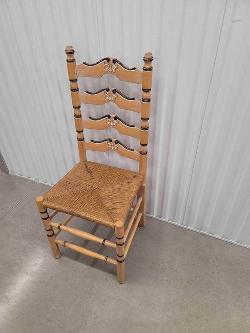 Shop Lendy - Lovely Wicker and Wood Ladder Back Chair - Shop Lendy