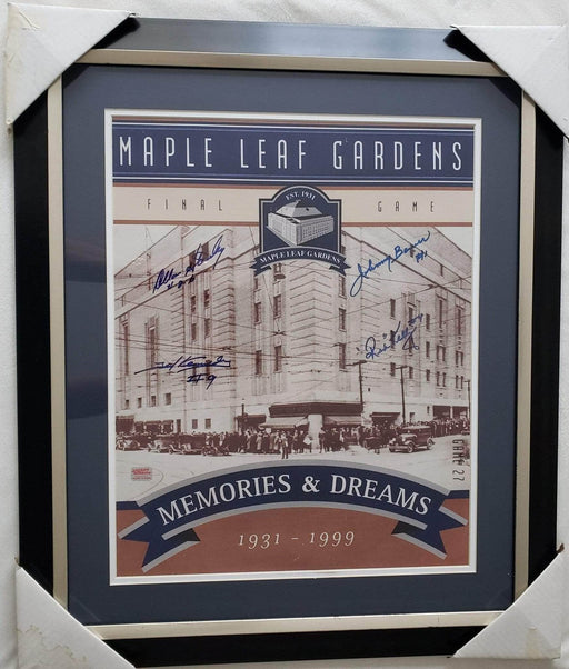 "Shop Lendy - Maple Leaf Gardens ""Memories and Dreams"" Signed Poster - Shop Lendy"