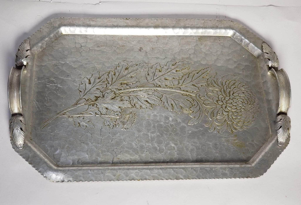 Shop Lendy Housewares Vintage Hand Wrought Aluminum Platter
