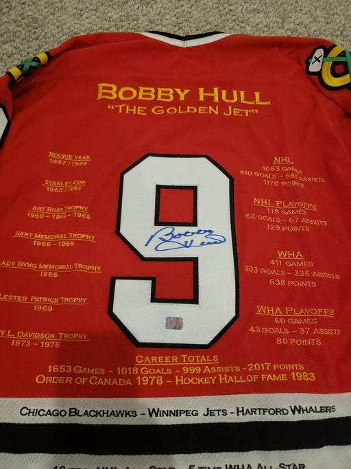 Shop Lendy - Signed Bobby Hull Career Jersey - Shop Lendy