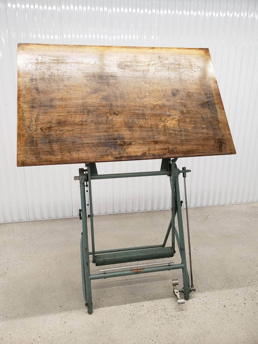 L. Sautereau - Vintage French Drafting table - Shop Lendy
