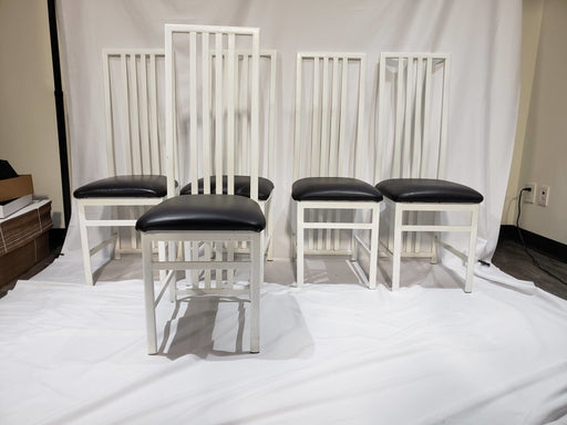 Shop Lendy - White & Black Chair Set - Shop Lendy