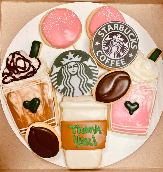 Starbucks Cookie Bouquet