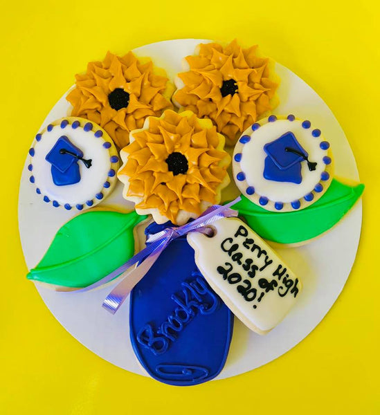 Daisy Cookie Bouquet