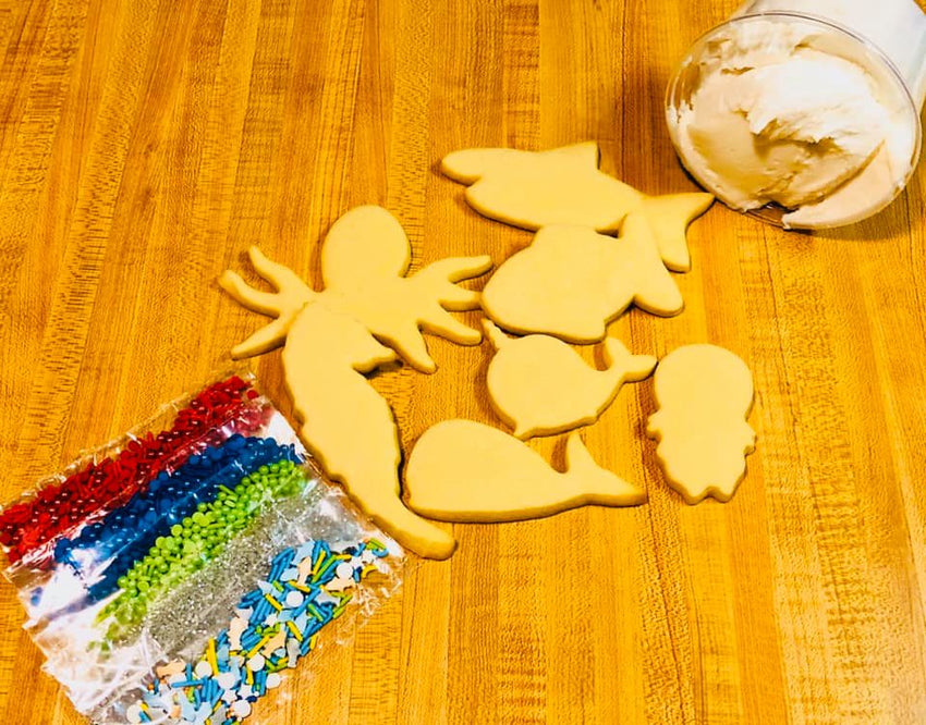 Ocean Cookie Decorating Kit