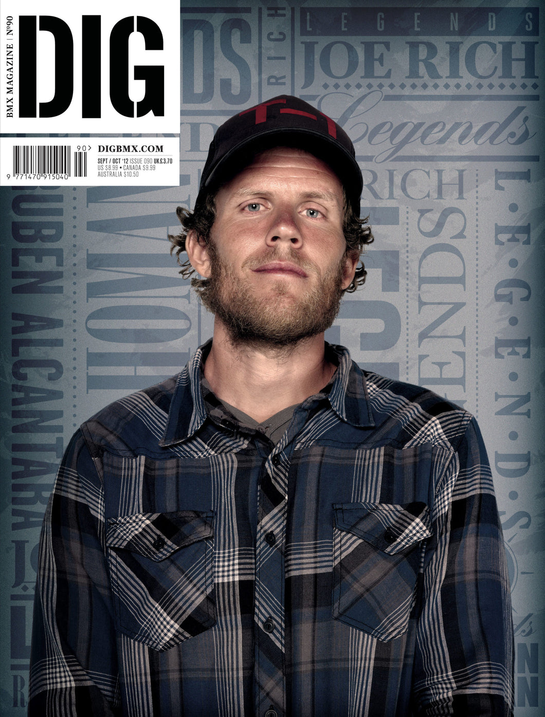 DIG ISSUE 90 - Joe Rich Cover