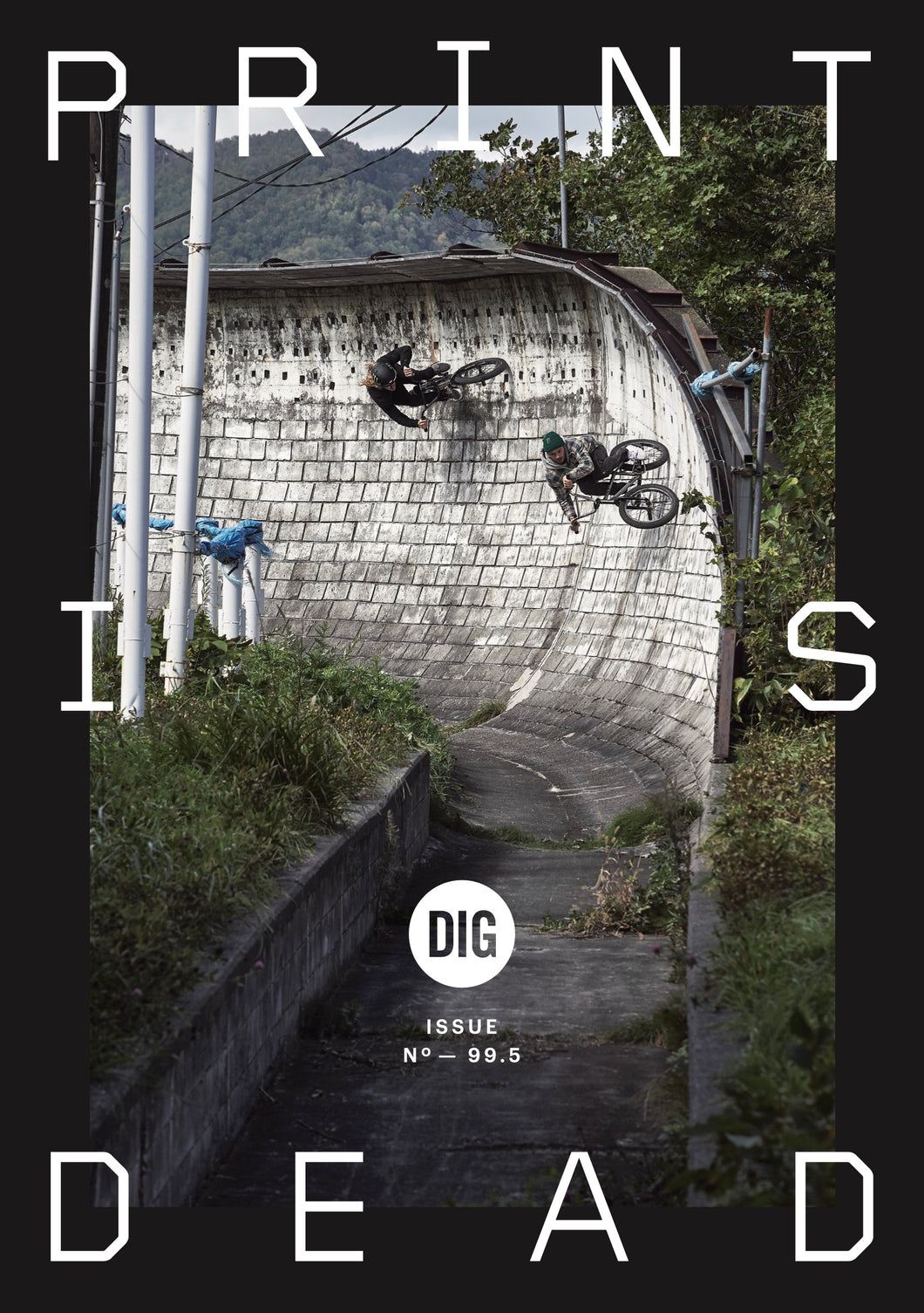 'PRINT IS DEAD' -  DIG MAGAZINE ISSUE 99.5