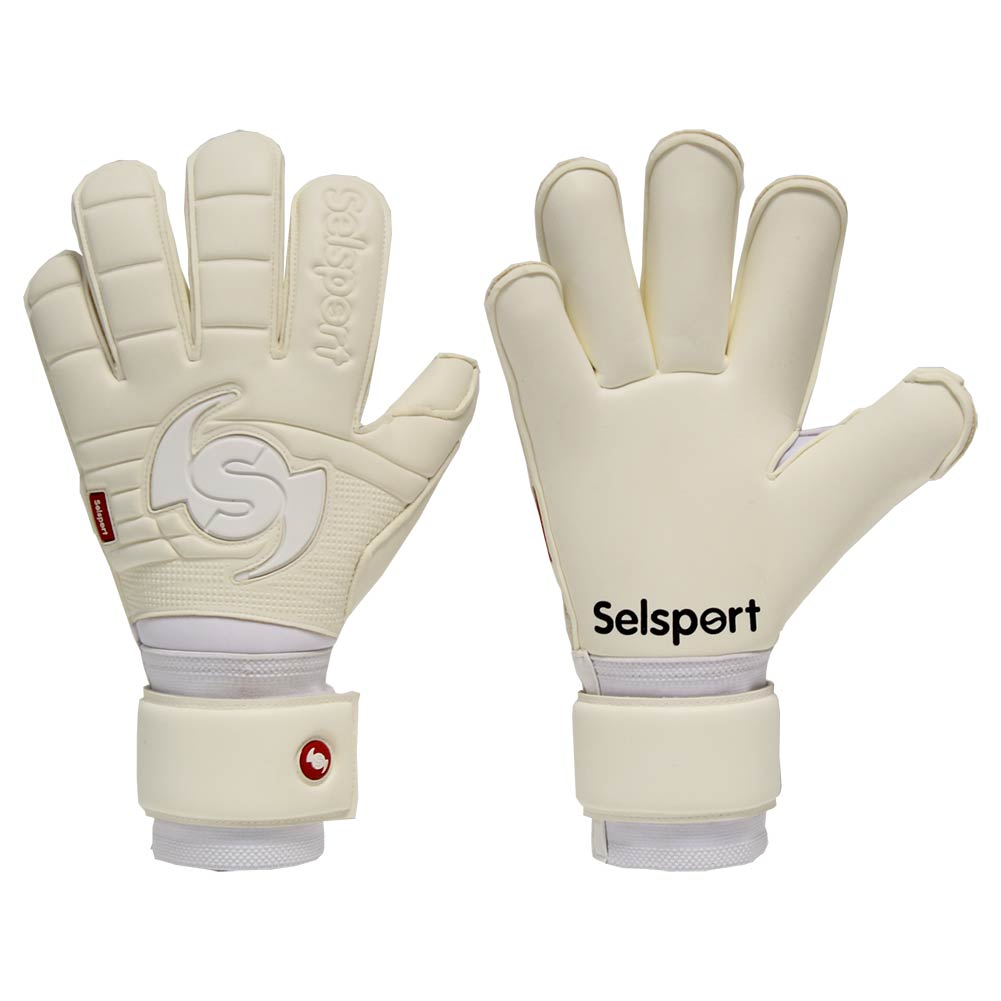 wrappa phantom all white goalkeeper gloves