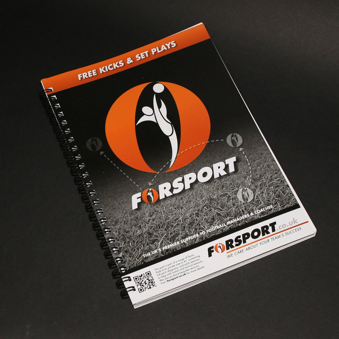 Forsport A5 Tactic Notebook
