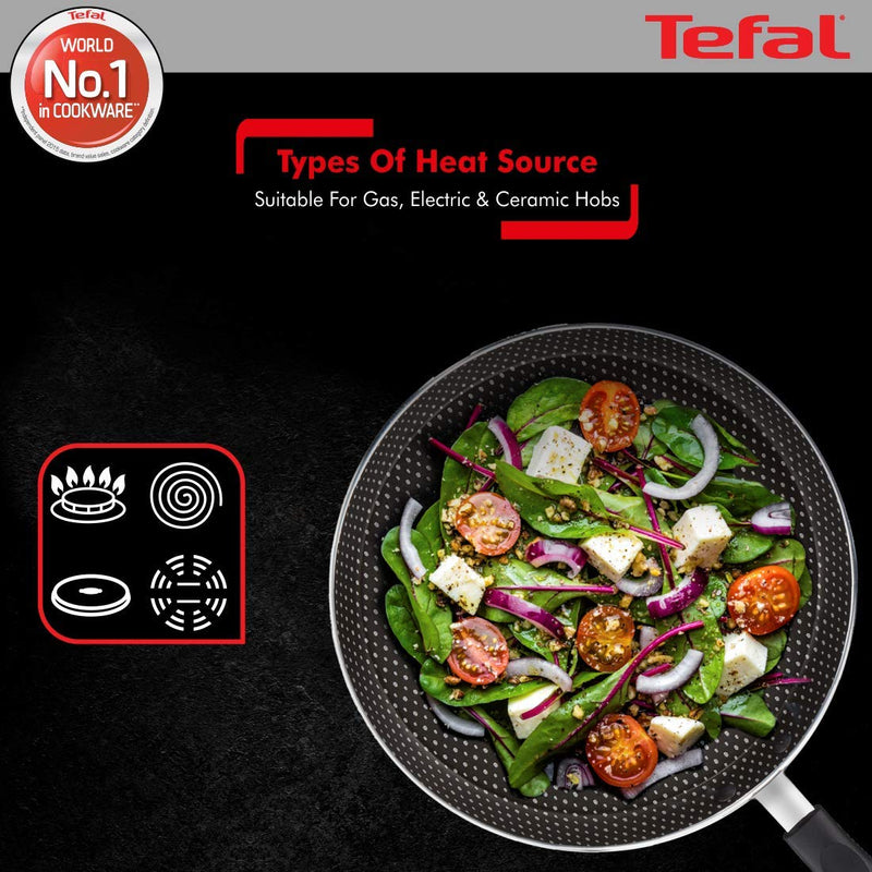 Tefal Tawa 26 Flat Rio Red Simply Chef Griddle - TF2100096345