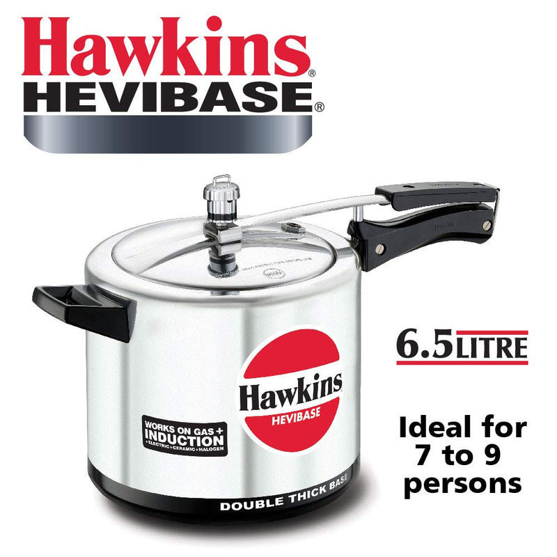 Hawkins Hevibase Aluminum Induction Pressure Cookers