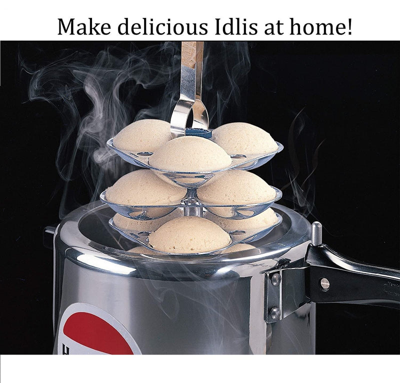 Hawkins Idli Stands suitable for various size of Pressure Cookers - Only Stand