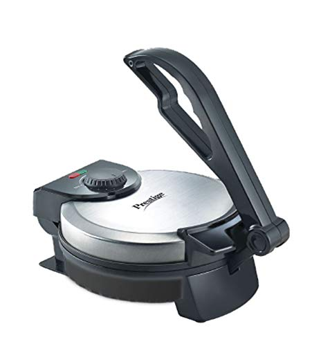 Prestige PRM 2.0 1200-Watt Roti Maker with Demo CD (Silver / Black)