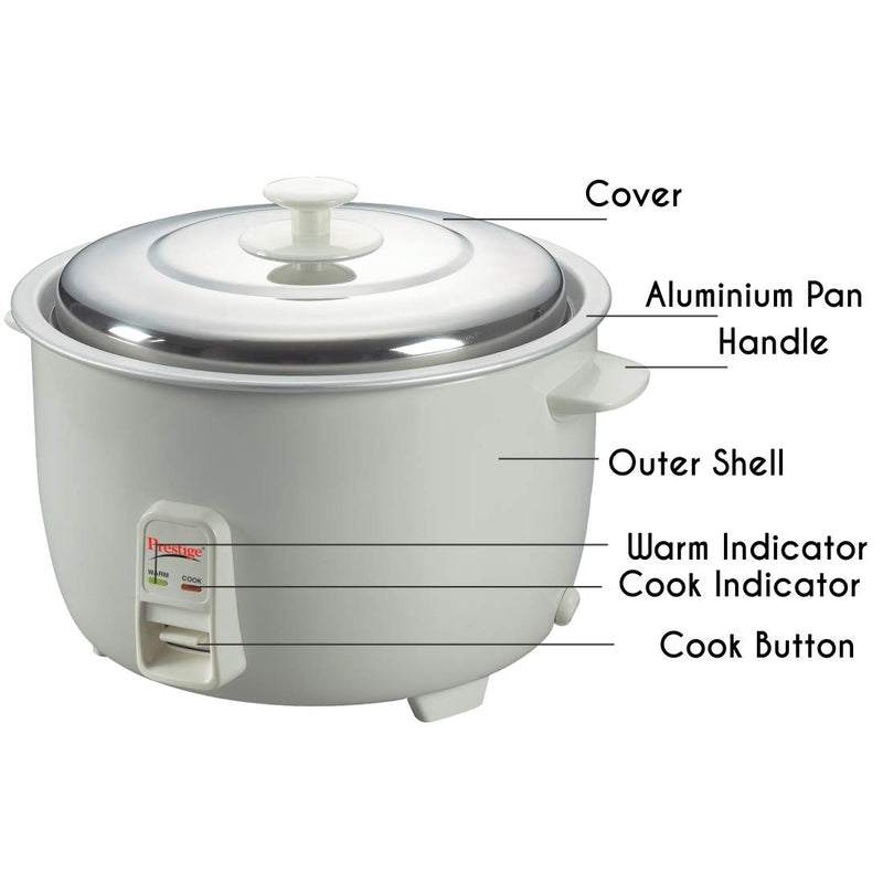 Prestige PRWO 4.2-2 1650-Watt Electric Rice Cooker