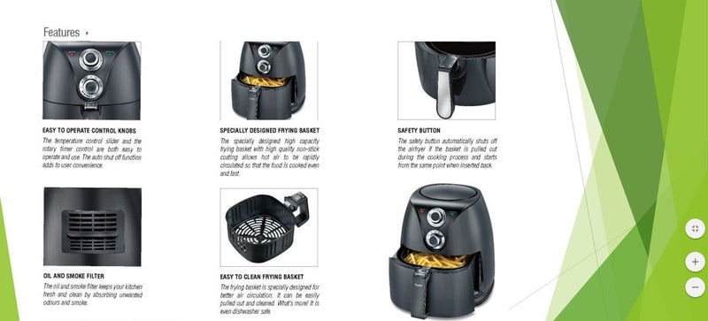 Prestige Air Fryer PAF -5.0
