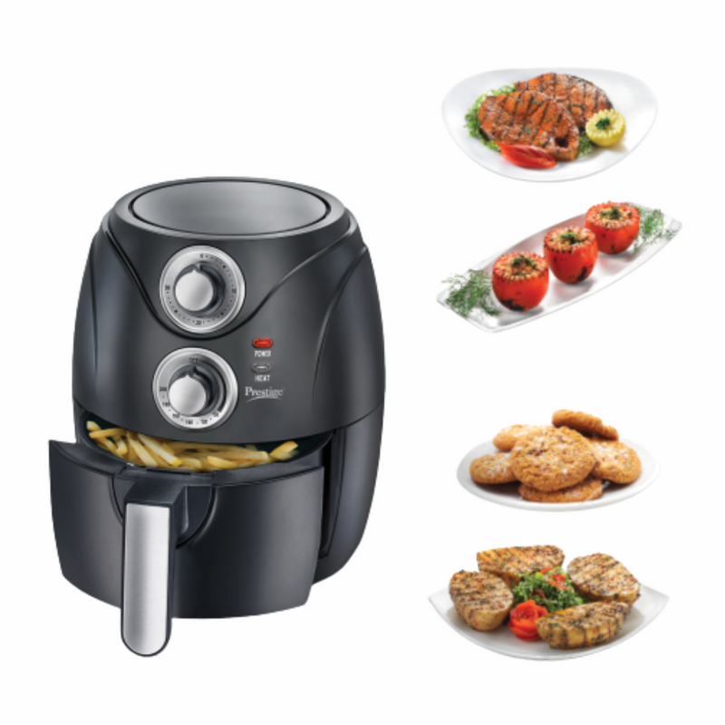 Prestige PAF 6.0 1200 Watt Air Fryer (Black)