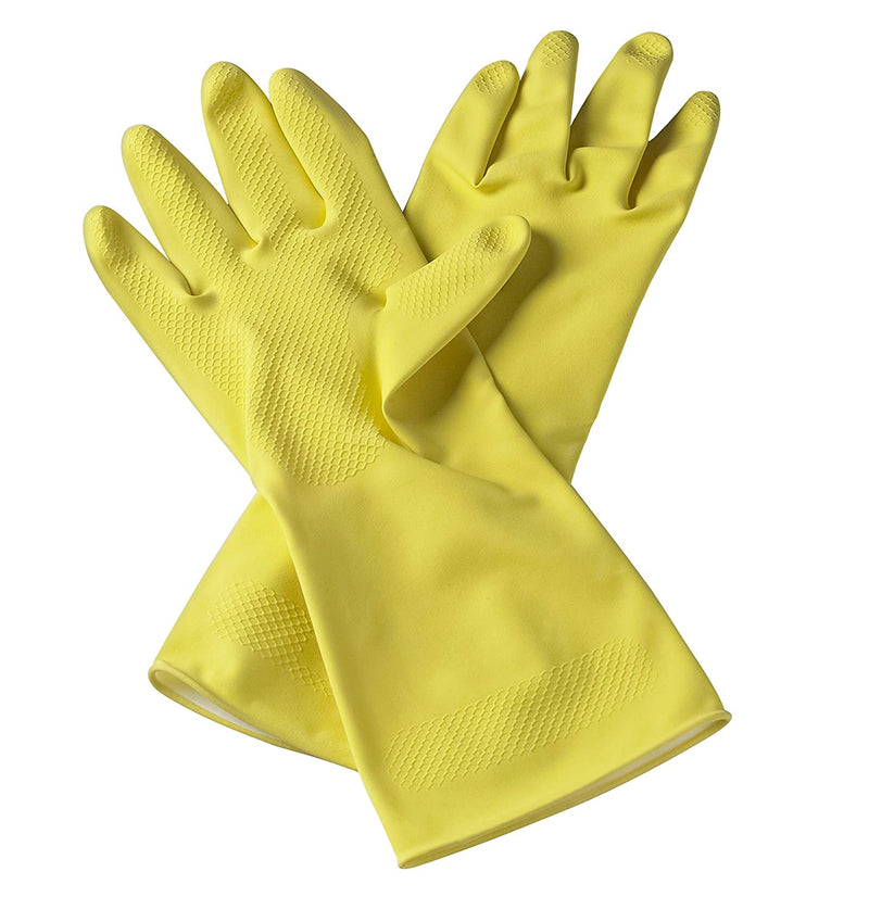 Prestige Multipurpose Household Latex Gloves Small PHG01 - PR42632