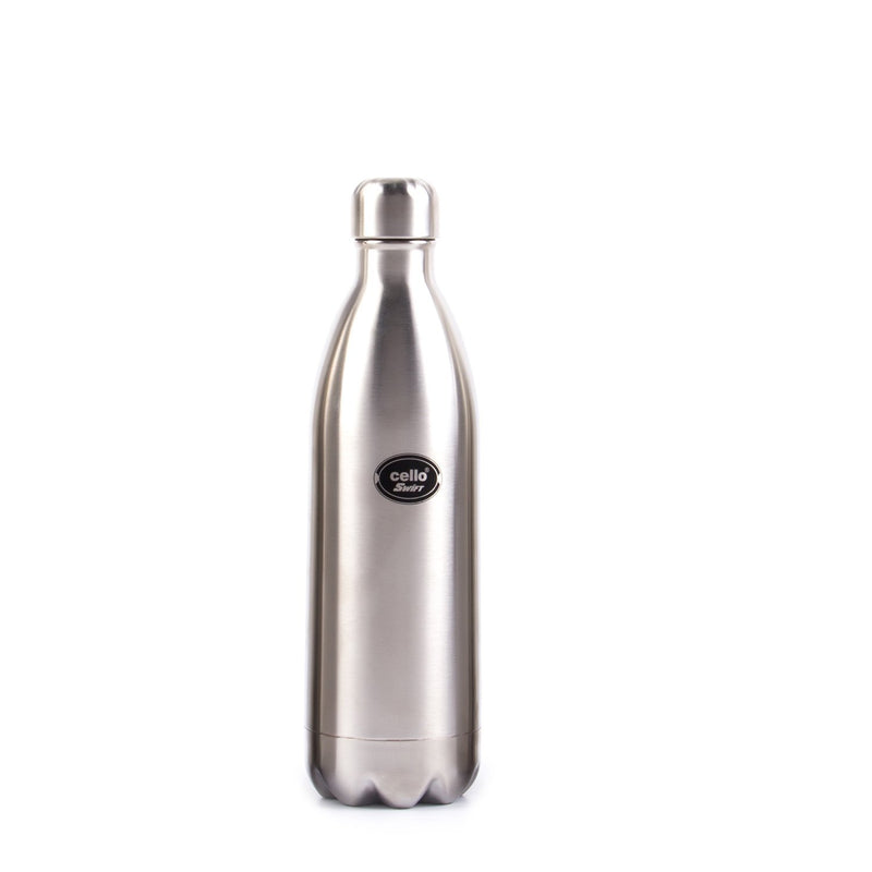 Cello Swift Stainless Steel Flask, Thermo Seal, 18/8 Steel