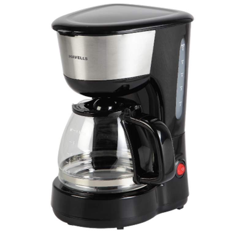 Havells Drip Café Drip Cafe-N 6 Coffee Maker Black 600W 600-Watt Drip Coffee Machine