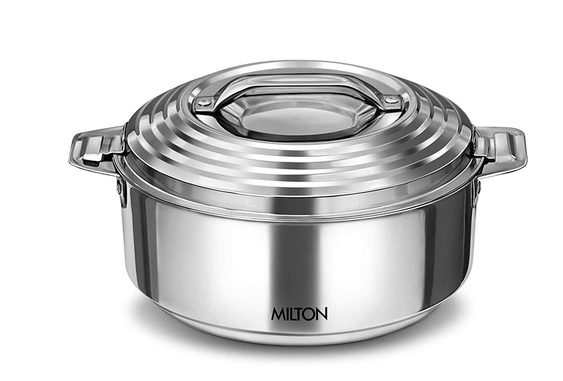 Milton Galaxia 1500 Insulated Stainless Steel Casserole, 1500 ml, Silver