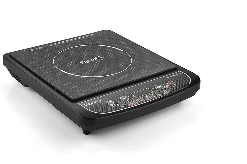 Pigeon by Stovekraft Rapido Premium Induction Stove, cooktop, Chula of 1800 watts with Feather Touch