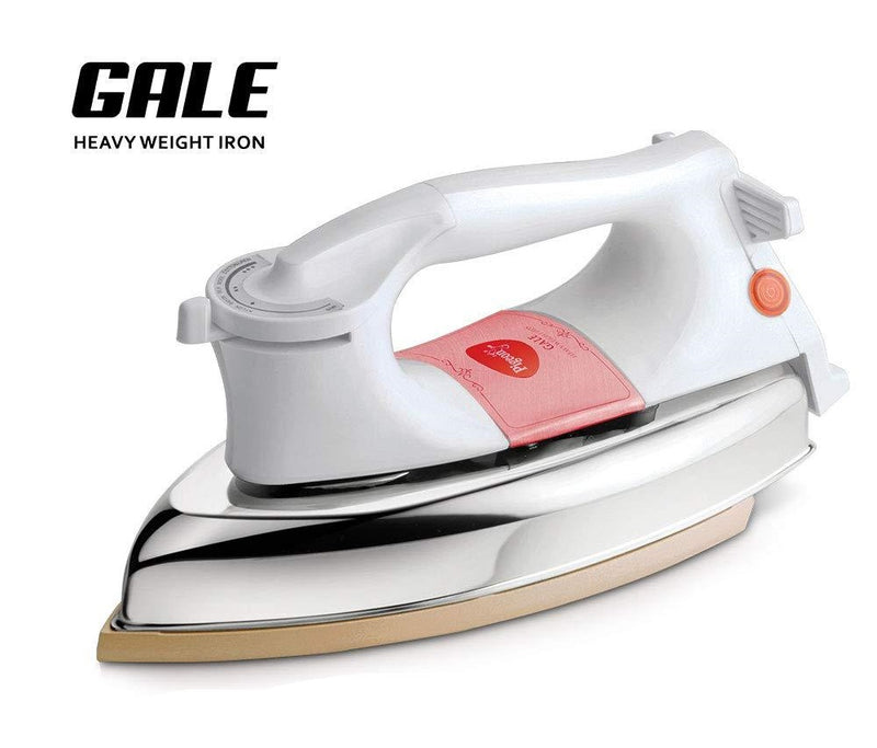 Pigeon by Stovekraft Gale Heavy Weight Dry Iron Press Box. Electric Iron for Wrinkle Free Clothes (1000 Watt)