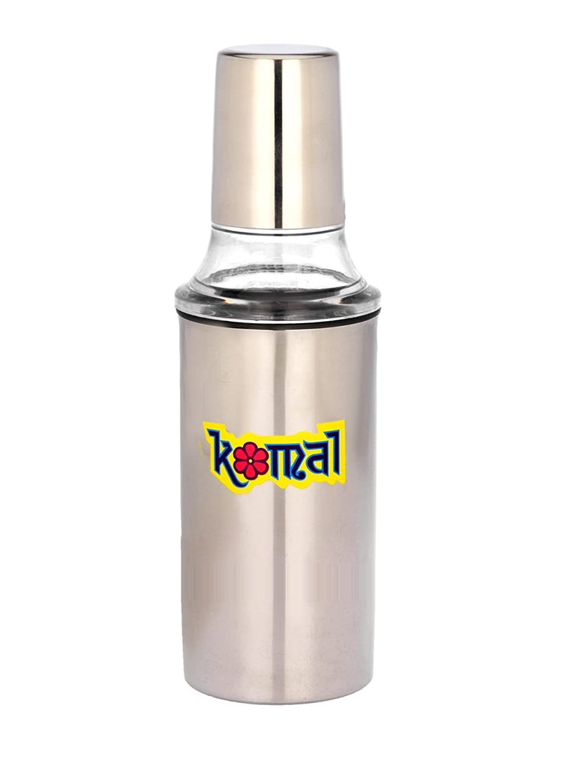 Komal Super Deluxe Oil Can SS 750ml