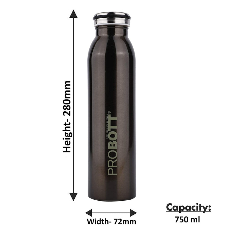 Probott Stainless Steel Double Wall Vacuum Flask Sports Bottle
