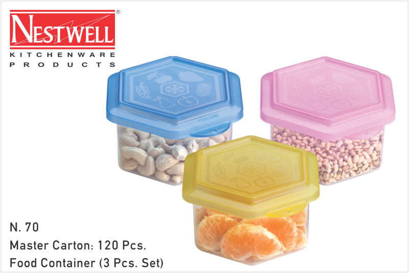 Nestwell Food Container (3pc. Set) - N70