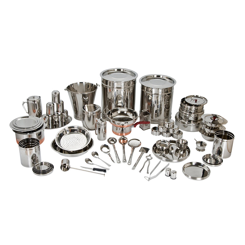 Bengani 121 Pcs Home Kit Dinner Set Marriage Set