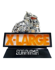 X-Large x Sorayama: Robot Gorilla Sculpture (Light-Up Piece) Signed by Artist Complex Con 2018 Exclusive
