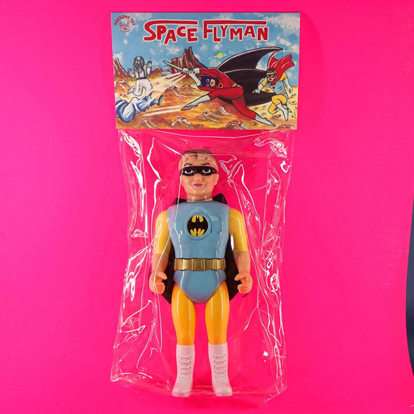Awesome Toy: Space Fly Man & Punch Boy Red & Blue Set of 2 Toy Tokyo Exclusive