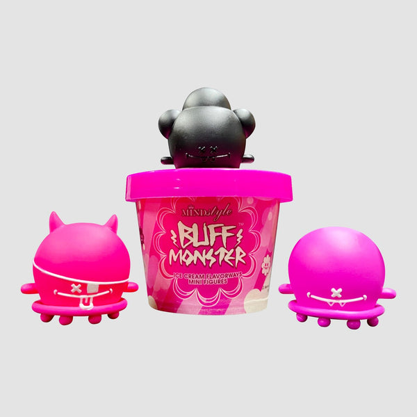 "MINDstyle Worldwide 1.5"" Buff Monster Mini Figures 1 Blind Box"