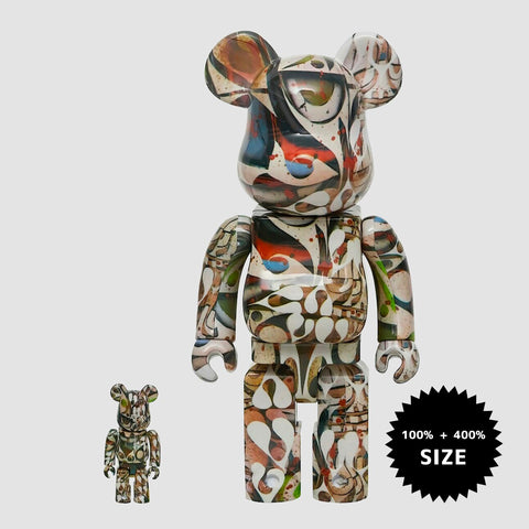 MEDICOM TOY: BE@RBRICK - Phil Frost Brown 100% & 400%