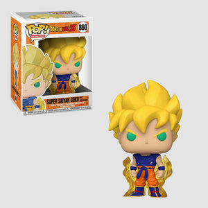 Funko Pop! Animation: Dragon Ball Z - Super Saiyan Goku First Appearance #860