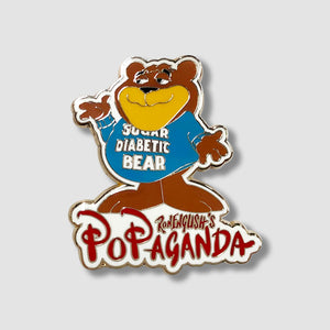 Ron English x MINDstyle: Popaganda - Cereal Killers Minis Sugar Diabetic Bear Enamel Pin